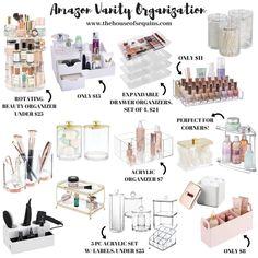 Organisation Hacks, Makeup Drawer Organization, Bathroom Organization, Bohemian Bedroom Decor, Home Decor Bedroom, Bedroom Ideas, Walmart Home, Organizing Your Home, Organising