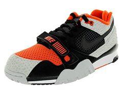 66a8a4a116914 Nike Mens Air Trainer 2 PRM QS Black Team Orange Leather Review