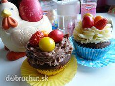 Fotorecept: Veľkonočné cupcakes Cupcakes, Desserts, Food, Tailgate Desserts, Cupcake Cakes, Deserts, Essen, Postres, Meals