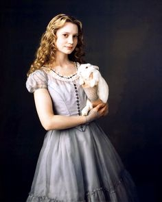 Alice in wonderland is a familiar tale, it's been told many times and there are countless film adaptations (including the `fifties animated disney film).