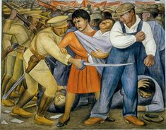 goodolarthistory:  Artist: Diego Rivera Title: The Uprising