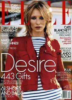 Cate Blanchett for Elle US 2003 #Cate_Blanchett #Woman #Beauty