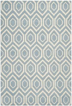 Safavieh CHT731B Chatham Collection Area Rug, 8-Feet by 10-Feet, Blue and Ivory by Safavieh, http://www.amazon.com/dp/B00C3W5IY6/ref=cm_sw_r_pi_dp_l3.bsb18BF92C