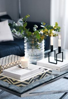 How to style a coffee table | These Four Walls blog