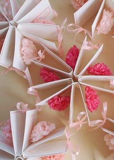 mini tissue paper pompoms