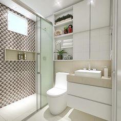 Banheirooooo clean e funcional By Studio 83 Arquitetura  ACHITECTURE   INTERIORS   BATH