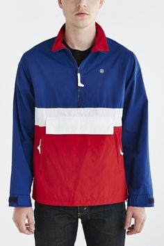 Stussy Colorblocked Anorak Jacket - Urban Outfitters