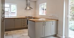 White cabinets oak trim for the home pinterest oak for Bathroom design norwich