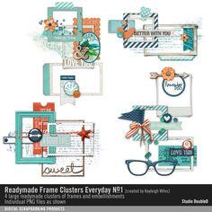Readymade Frame Clusters: Everyday No. 01- Studio Double-D Elements- EL460093- DesignerDigitals