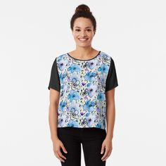 """""""Pink moose silhouettes against cyan blue background pattern graphic design"""" T-shirt by IvyArtistic Graphic T Shirts, Belle Lingerie, Frankenstein, Dark Fantasy, Pink Lila, Tropical Pattern, Leggings, Happy Summer, Halloween"""