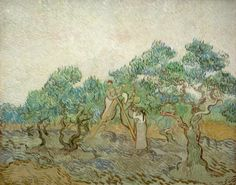 The Olive Orchard- Vincent van Gogh, 1889 National Gallery of Art, Washington DC http://www.nga.gov