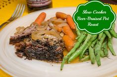 Pot roast is one of my family's favorite meals. This is a variation of our usual pot roast recipe and was a big hit! It smelled and tasted delicious!
