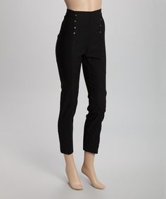 Look what I found on #zulily! Black Rivet Straight-Leg Pants - Plus #zulilyfinds