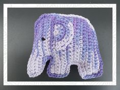 Crochet Elephant Amigurumi Free Pattern with Video Crochet 101, Crochet Baby Toys, Crochet Amigurumi, Love Crochet, Crochet Animals, Crochet Stitches, Crochet Patterns, Crochet Hats, Baby Shower Gifts