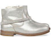 Zilveren Unisa kinderschoenen Rikai boots