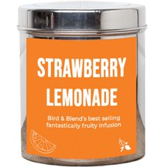 With real strawberry chunks and zesty lemon peel it's easy to see why this fantastically fruity infusion is our best seller and an award-winner! Amazing iced or hot, enjoyed by all ages, girl, boy,dog... This versatile little number is a big hit all-round