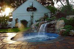 """Is it a pool or a spa... it's a """"Spool"""", Deck and Patio Company"""