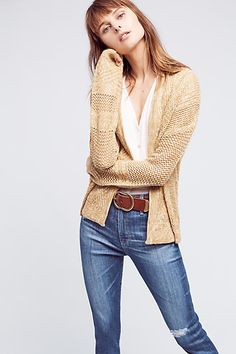 Jolette Cable-Knit Cardigan - anthropologie.com