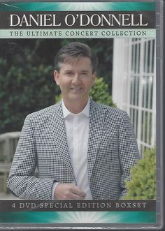 Daniel O'Donnell - The Ultimate Concert Collection 4 DvD Special Edition Boxset