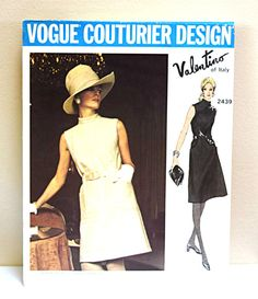 1970s Vogue Couturier Design 2439 Valentino Italy by FranciesFare