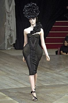 Yeah right, women are just going to snatch this one right up. Evey woman's dream dress - the thigh enhancer!
