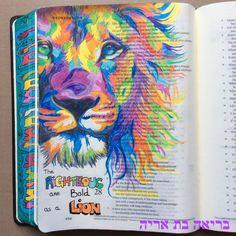 ESV journaling Bible. Proverbs 28:1 @Briah Bat Aryeh