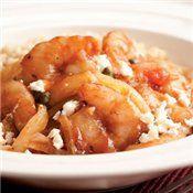 Mediterranean Sauted Shrimp