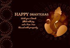 wishing prosperous and joyful Dhanteras