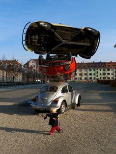 Car Building Hans Hollein - ArtWagen, ZKM, Karlsruhe, Germany