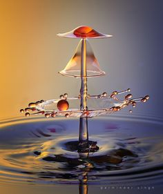 GREAT CAPTURE OF SEVERAL LEVELS!---water drop by parminder singh on 500px