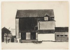 Charles Sheeler. Barn. 1917