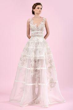 Gemy Maalouf Spring 2016 Bridal Collection @weddingchicks