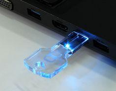 Clé USB personnalisée LED