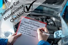 Use this summer car maintenance checklist to get your car ready for the new season!