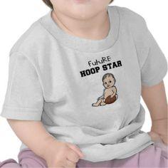Future Hoop Star Baby Basketball T-shirt