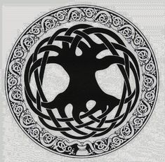 Recently on my journey for knowledge, I have been seeing the Yggdrasil mentioned, pictured, referenced, aluded to.. For some reason, it see...