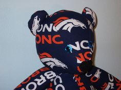 Broncos Teddy Bear Denver Football NFL Tailgate Mascot by DoOver