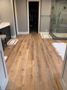 "Great floor for wet areas! ""Yellowstone"" from ""The Lands"" by Nexxacore."