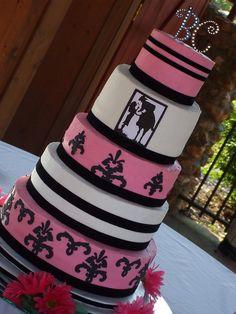 Cricut cake idea
