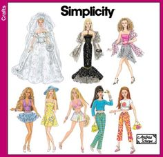 Simplicity 4719  dolls sewing pattern
