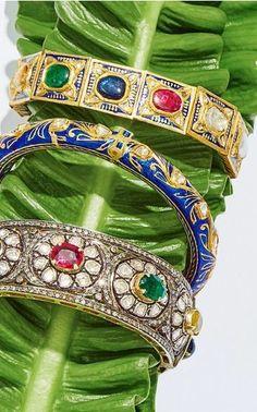 Sanjay Kasliwal Pre Fall 2016 on Moda Operandi Spring Summer 2016, Fall 2016, Oriental, London Spring, London Fashion, Amethyst, Bangles, Jewellery, Collection
