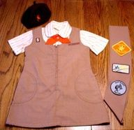 Brownies uniform. I was a proud Brownie. :)