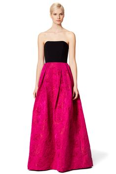 Reese Gown by Theia ($990 retail or rent for $75) | Rent The Runway