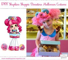 DIY Shopkins Shoppie Halloween Costume Shopkinsworld SPKFan ShopkinsFan ShopkinsWorld