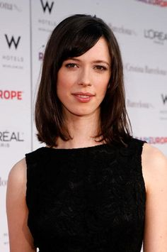 Actress Rebecca Hall arrives on the red carpet at the Los Angeles Premiere of 'Vicky Cristina Barcelona' at the Mann Village Theatre on August 4 2008...