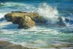 This site displays the fine art work of Gil Dellinger. Gil Dellinger is a world-renowned landscape, seascape, and figurative artist specializing in pastel and acrylic mediums. Gil Dellinger is a respected member of the Plein Air Painters Society, Pastel S Landscape Paintings Acrylic, Landscape Paintings, Ocean Painting, Southwest Art, Beautiful Artwork, Original Fine Art, Original Landscape Painting, Seascape Paintings, Water Painting