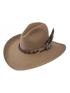 bcdeefb697d31 Stetson Broken Bow - (4X) Buffalo Felt Cowboy Hat