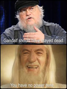 Game of Thrones funny memes. Stay away George!