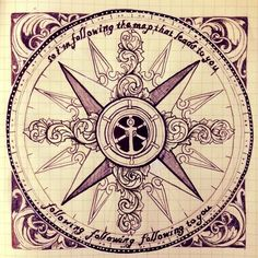 c41894ac4ce03 Old map compass Compass Rose t Compass tattoo