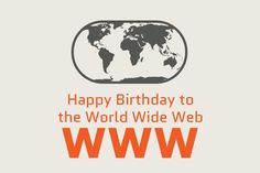 Feliz aniversário, WWW | Infográfico celebra os 25 anos da internet - Blue Bus